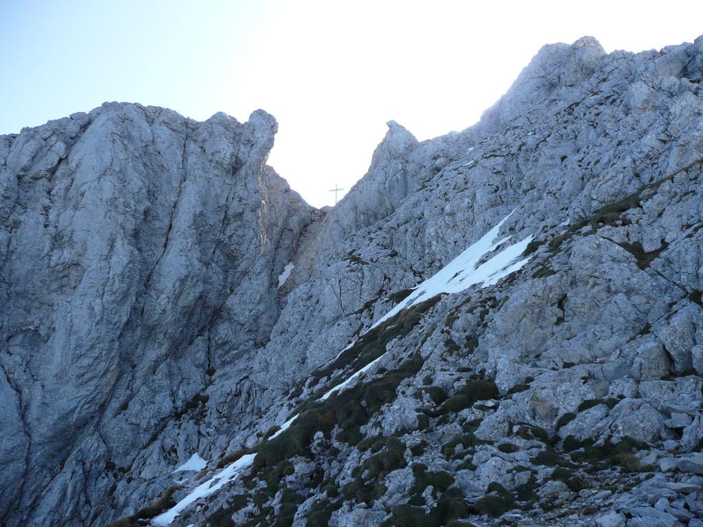 Der letzte Abschnitt zum Gipfel steht bevor.