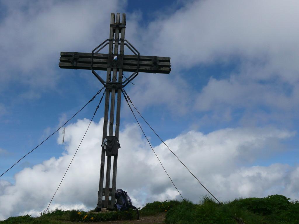 Gipfelkreuz des Glatthorn