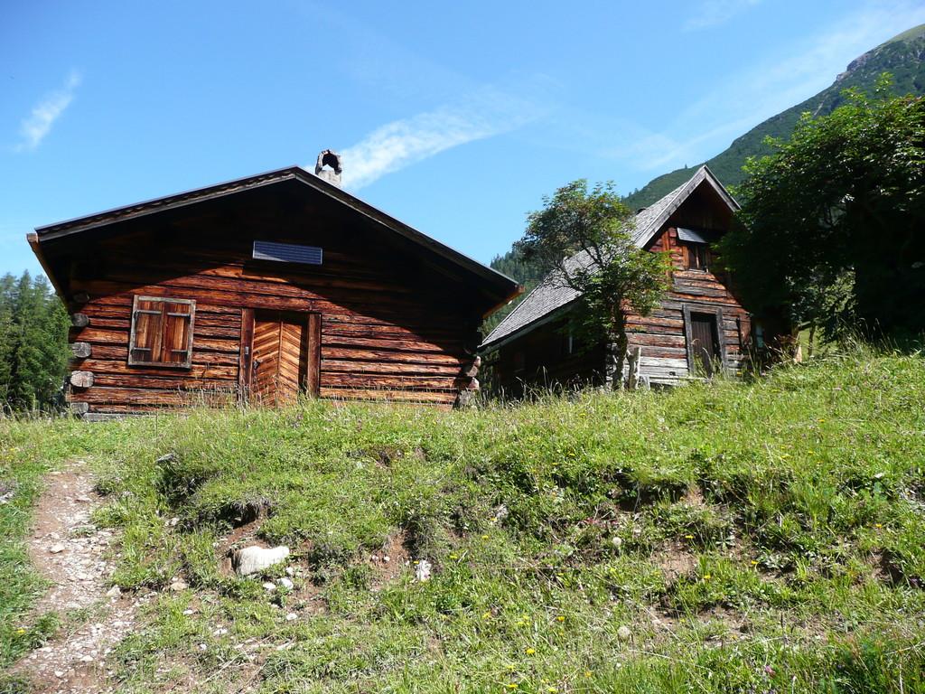 Hütten bei der Stabl Alpe