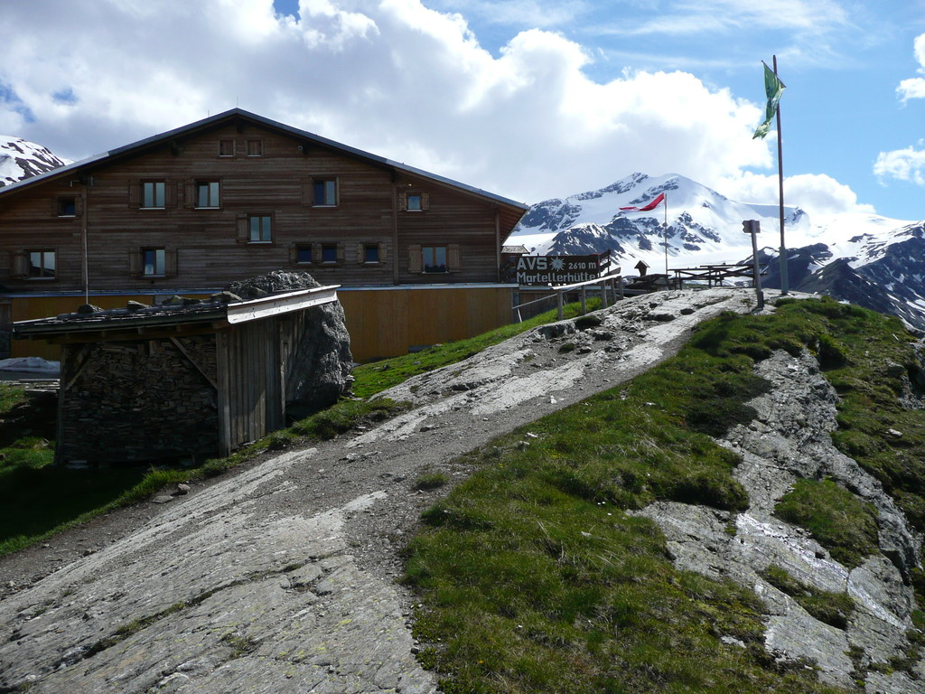 Marteller Hütte erreicht.