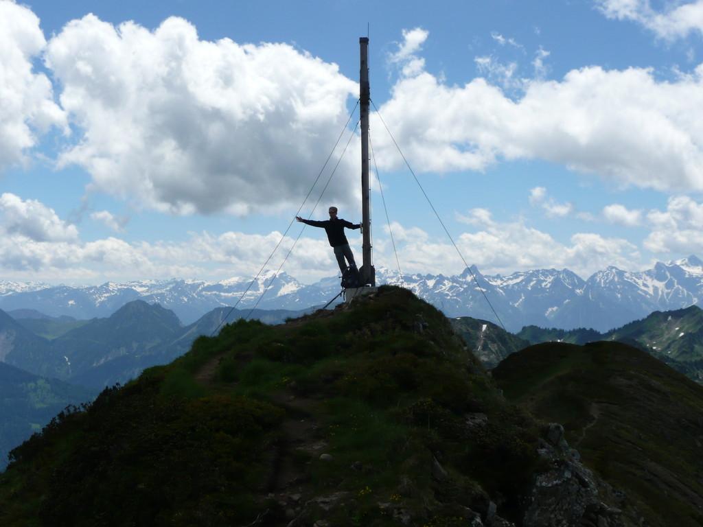Am Gipfel des Portlerhorn
