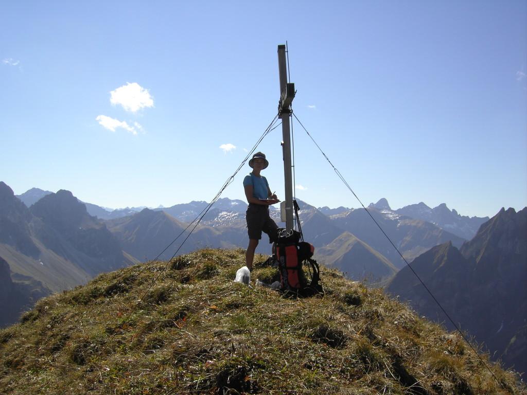Am Schochen mit Gipfelpanorama