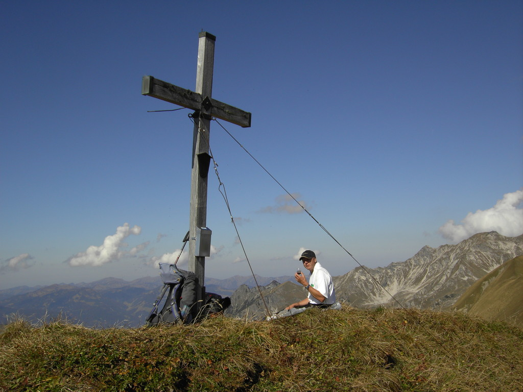 Gipfelkreuz des Schochen