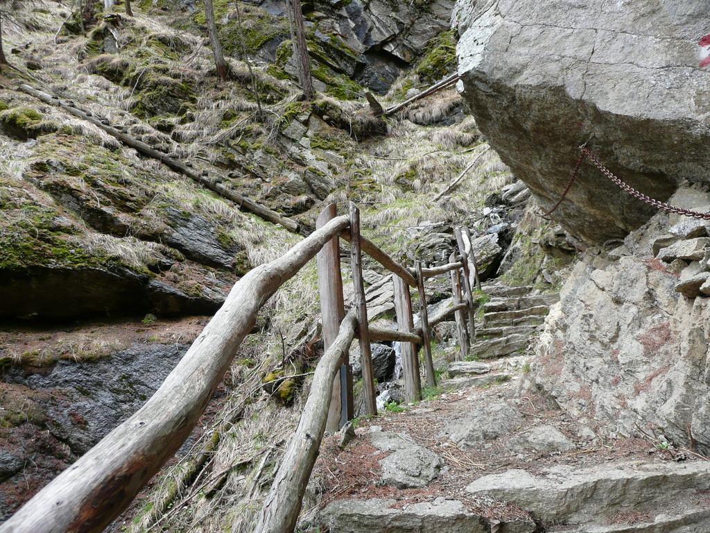 Abschnitt in der 1000 Stufen Schlucht