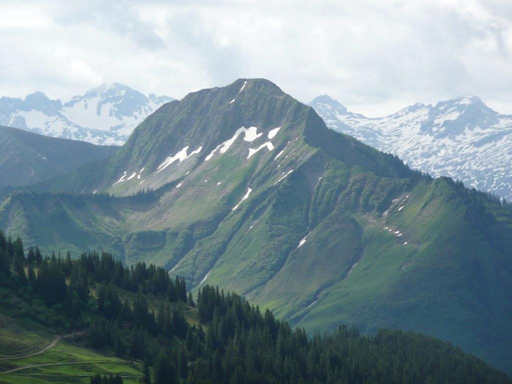 Blick zum Zafernhorn