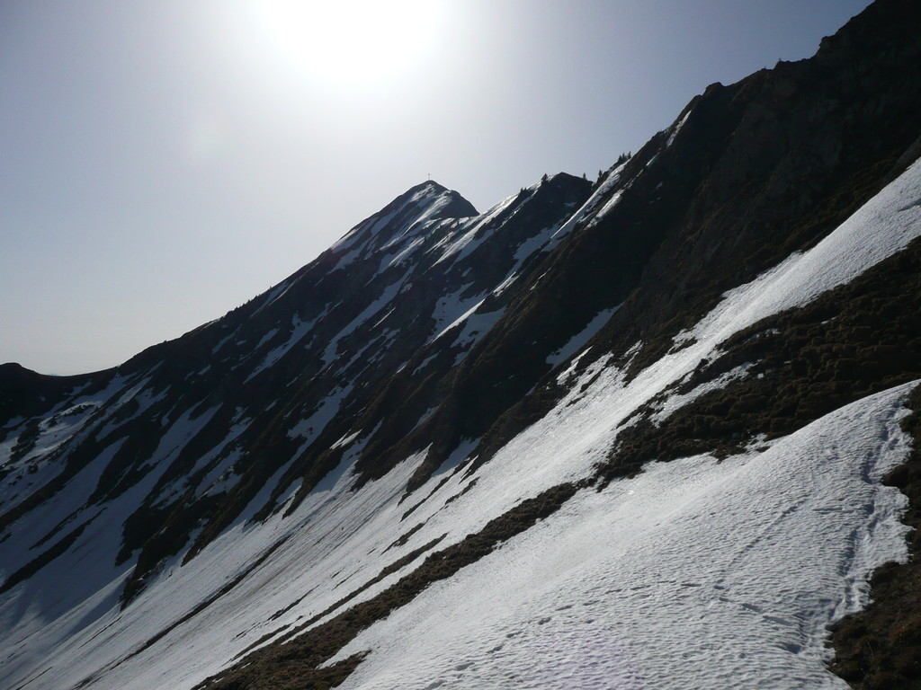 Schneidspitze vom Sabachjoch