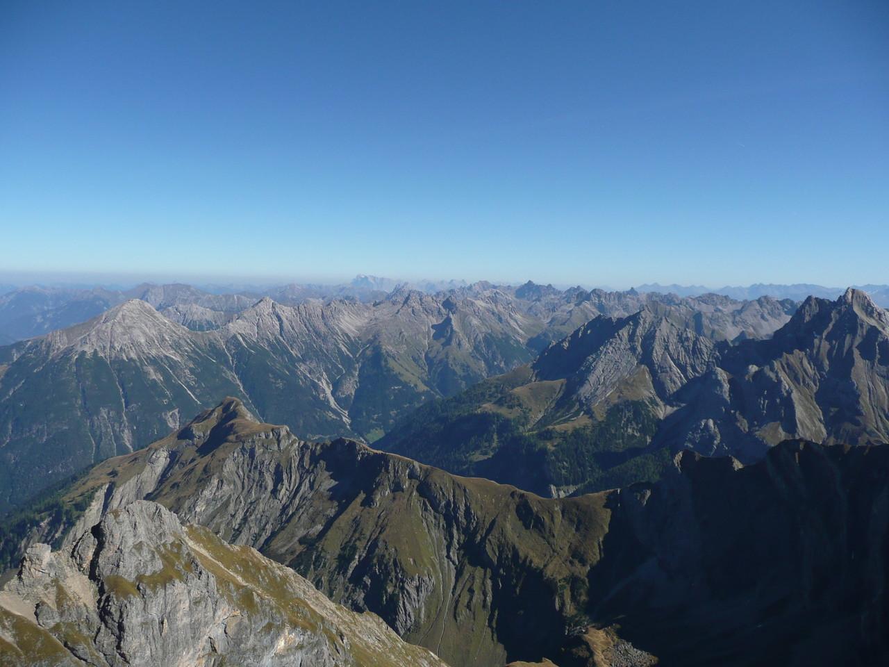 Gipfelpracht Lechtaler Alpen