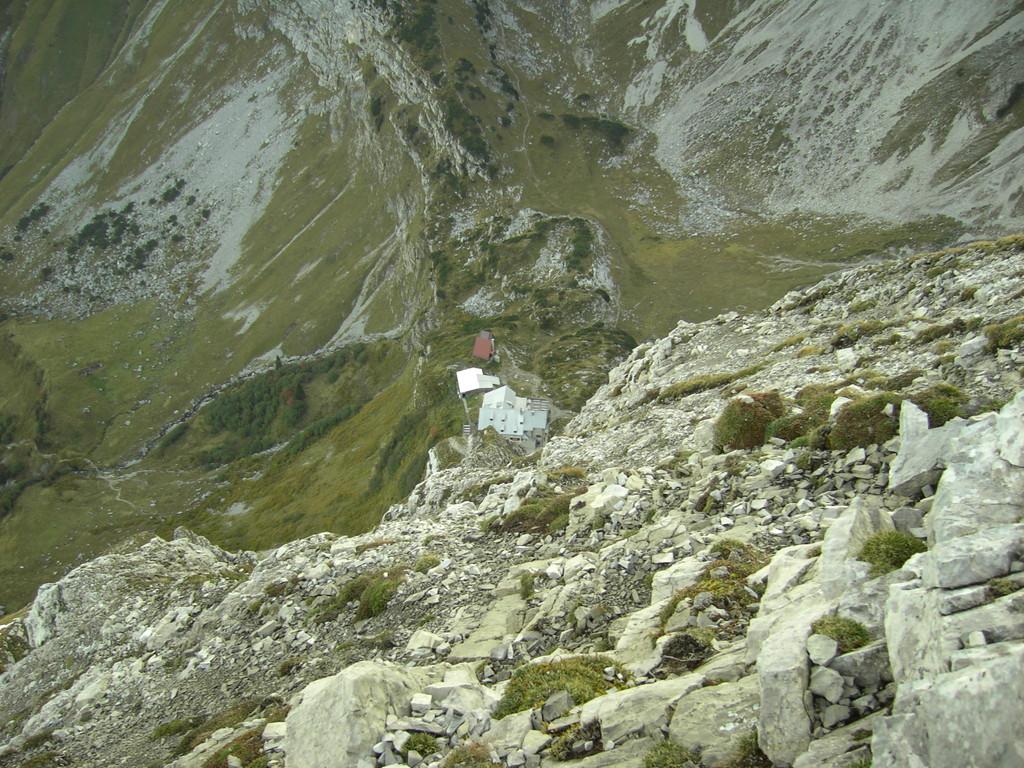 Tiefblick zum Prinz Luitpold Haus