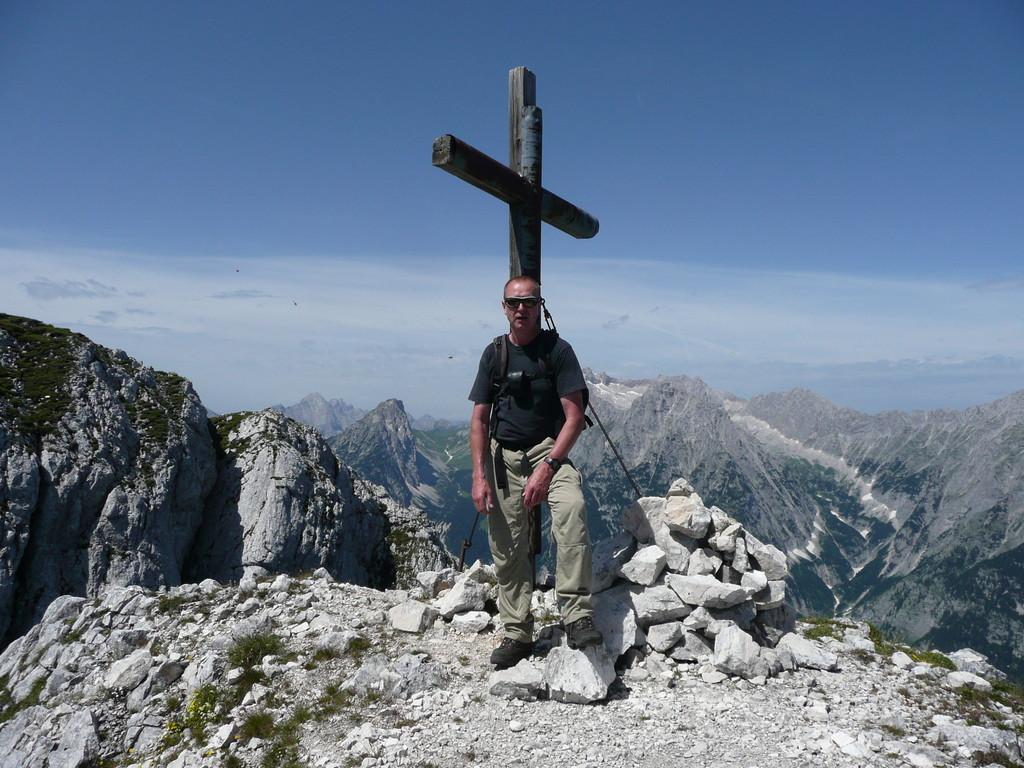 Am Gipfel der Großen Arnspitze