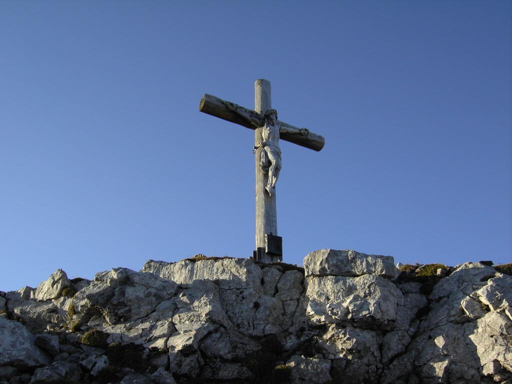 Gipfelkreuz des Wiedemerkopfes