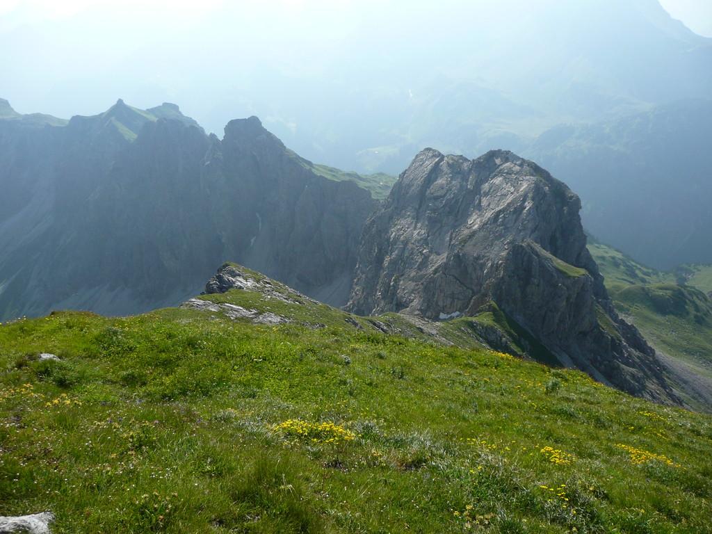 Gipfelkette zwischen Angererkopf und Kemptener Köpfle