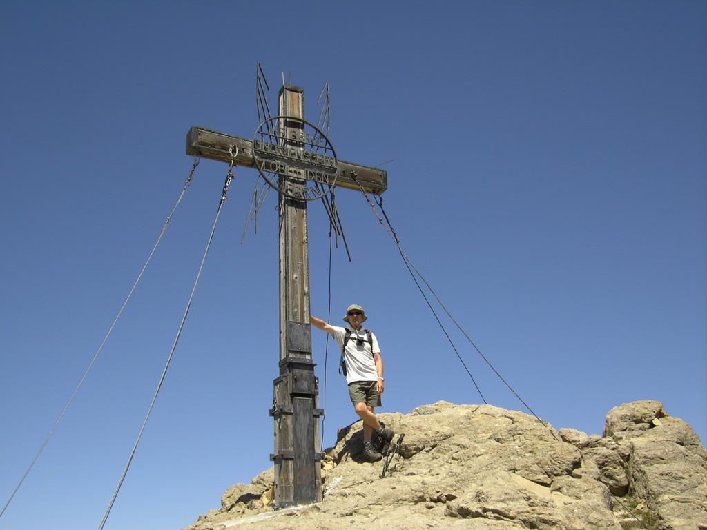 Am Gipfel des Muttekopfes