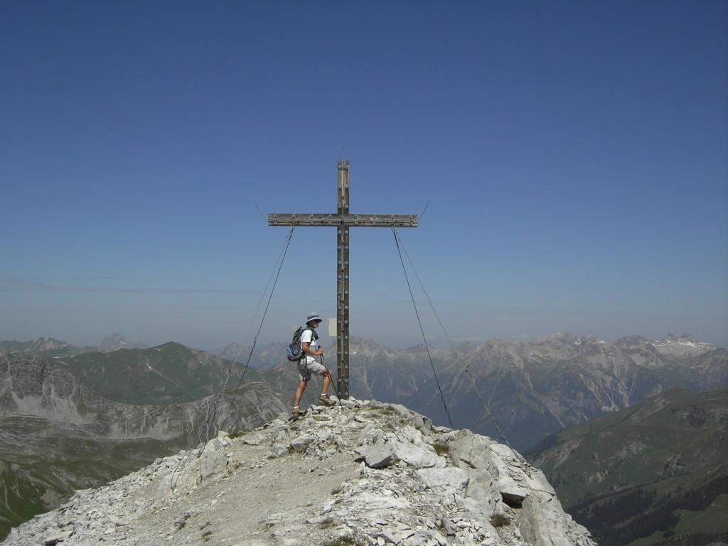 Am Gipfel des Grießkopfes
