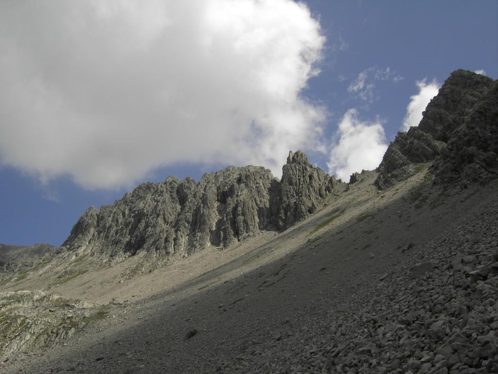 Zwischen Söllerkopf und Kreuzkarspitze