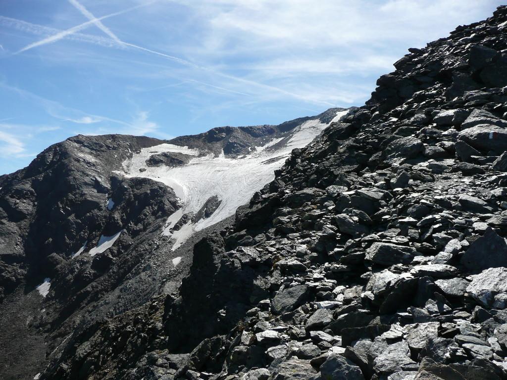 Gletscherrest am Hasenöhrl