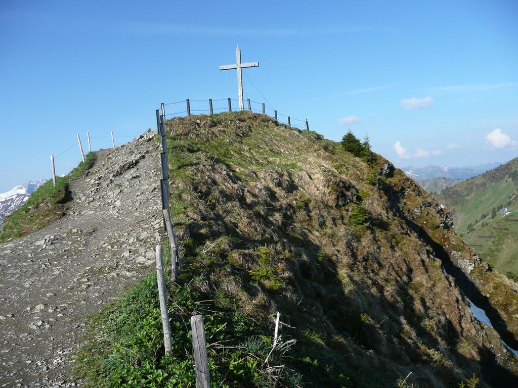 Gipfel des Walmendingerhorn