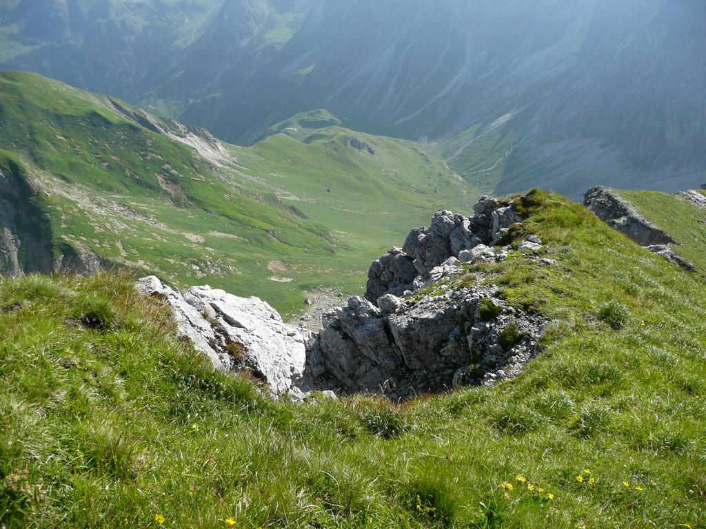 Tiefblick ins Wildental