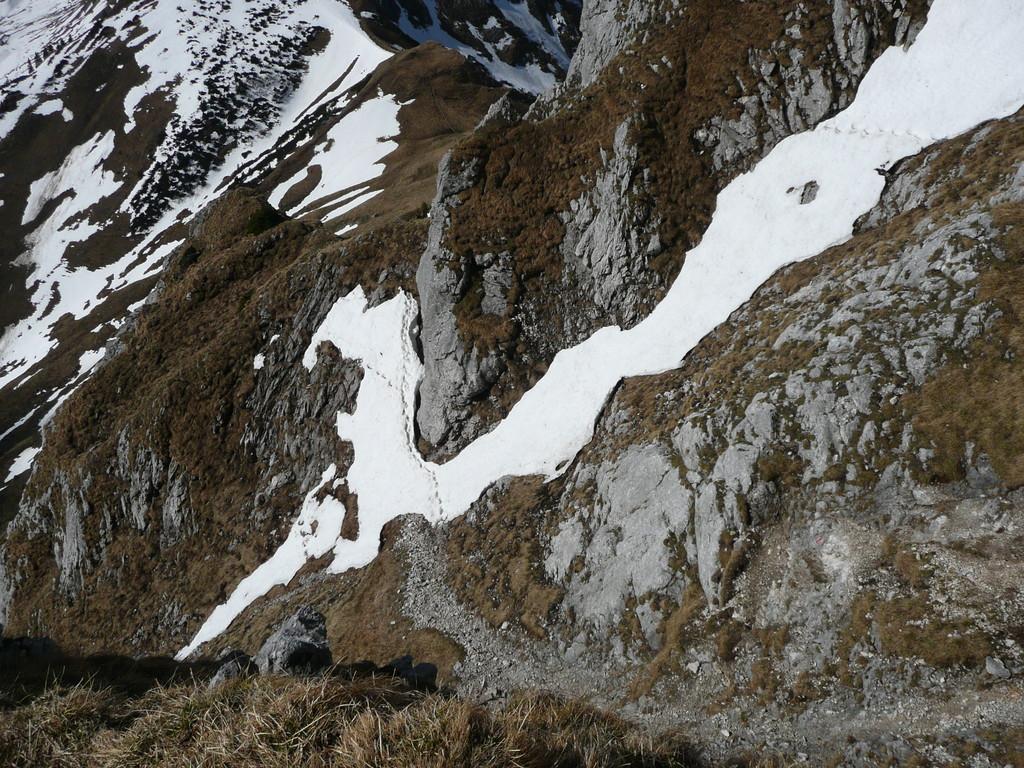 Aufstiegsgelände zur Gehrenspitze