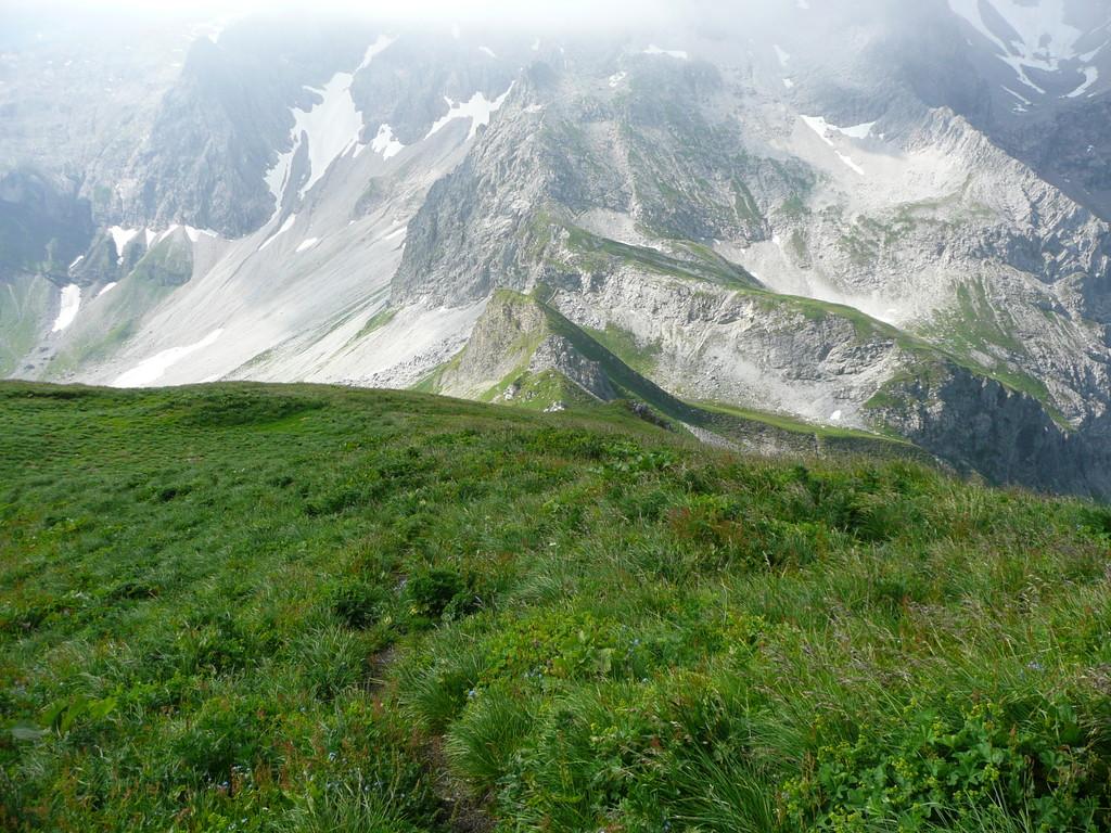 Abstieg Richtung Fürggele.