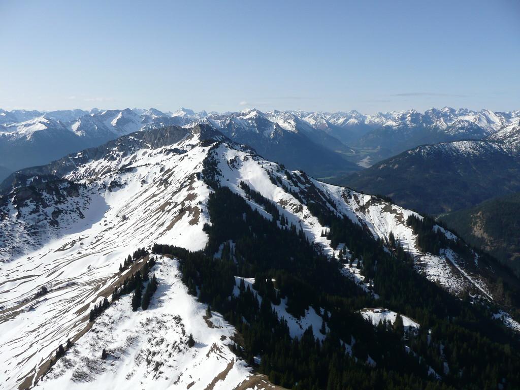Blick zur Gaichtspitze