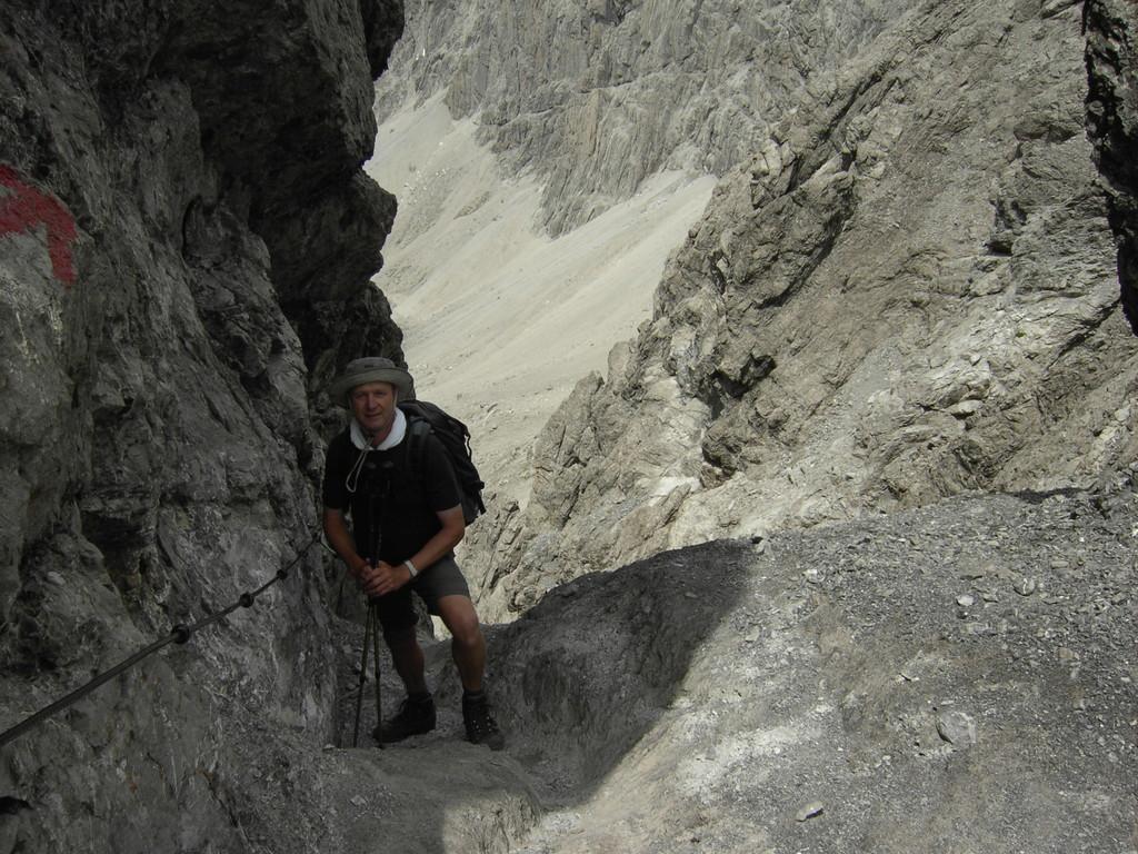 Abstieg über vordere Dremelscharte