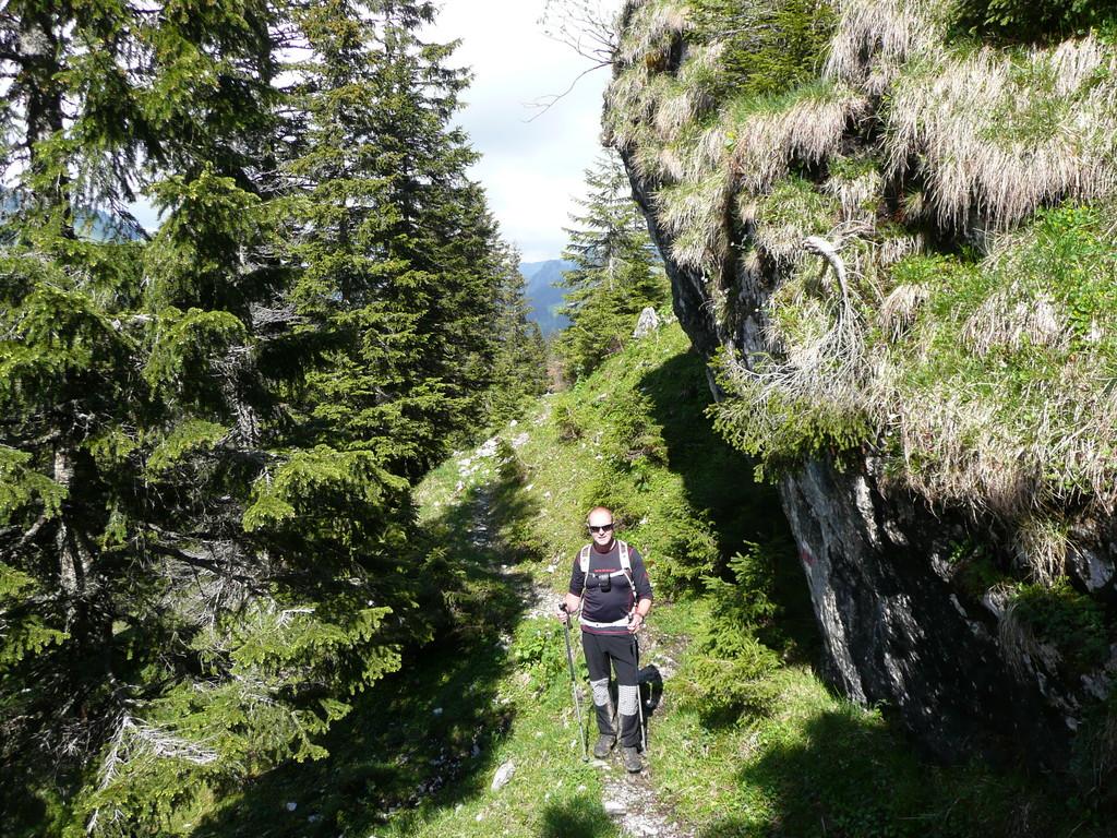 Schöne Passage mit Blick Richtung Schönenbach