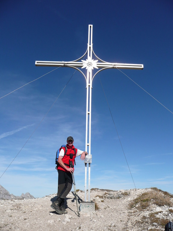 Am Gipfel der Gaichtspitze