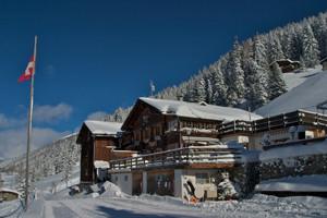 Das Restaurant im Winter
