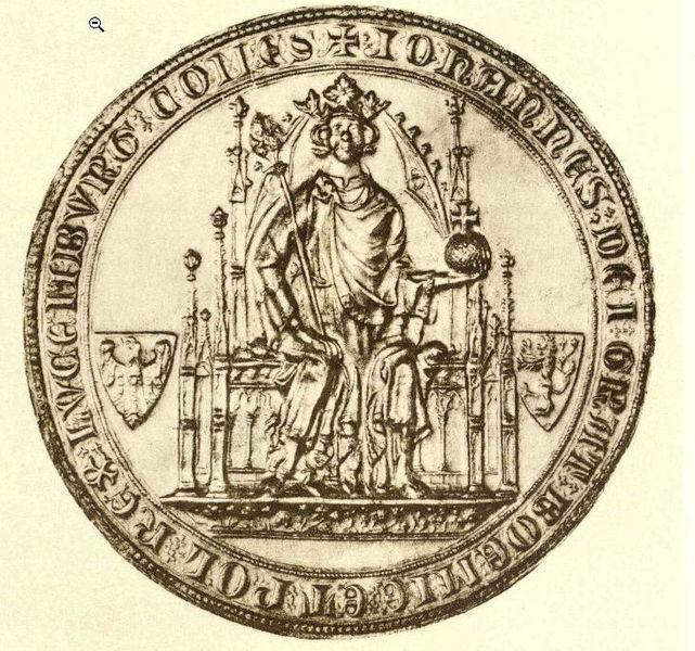 Siegel Johann von Luxemburgs