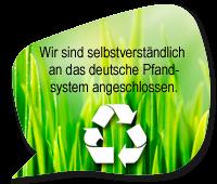 Logo des deutschen Pfandsystems
