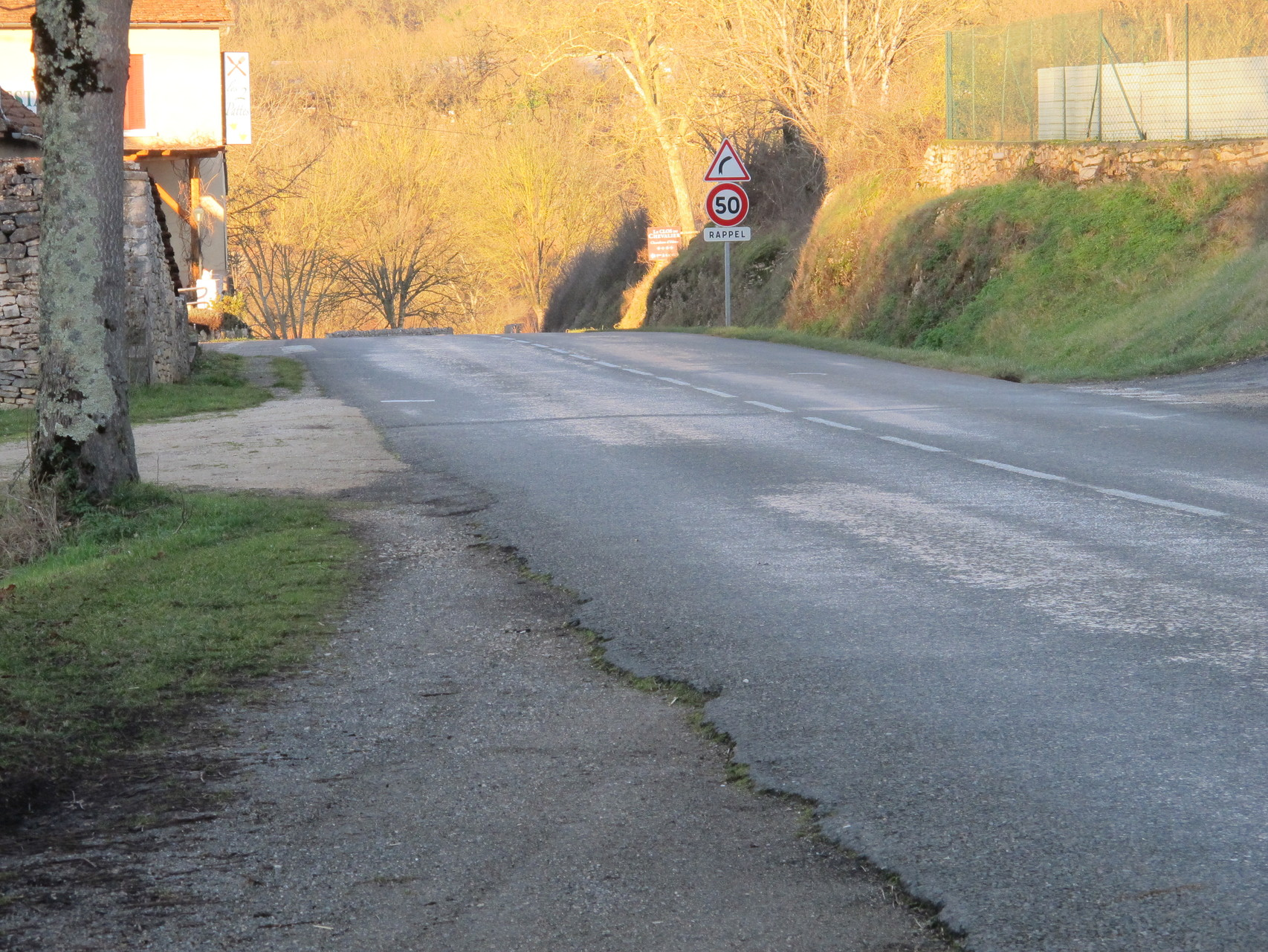 vers la sortie sud direction Cahors