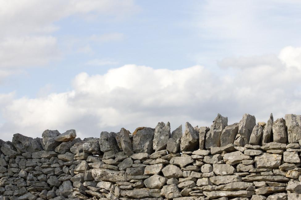 murs de pierres sèches
