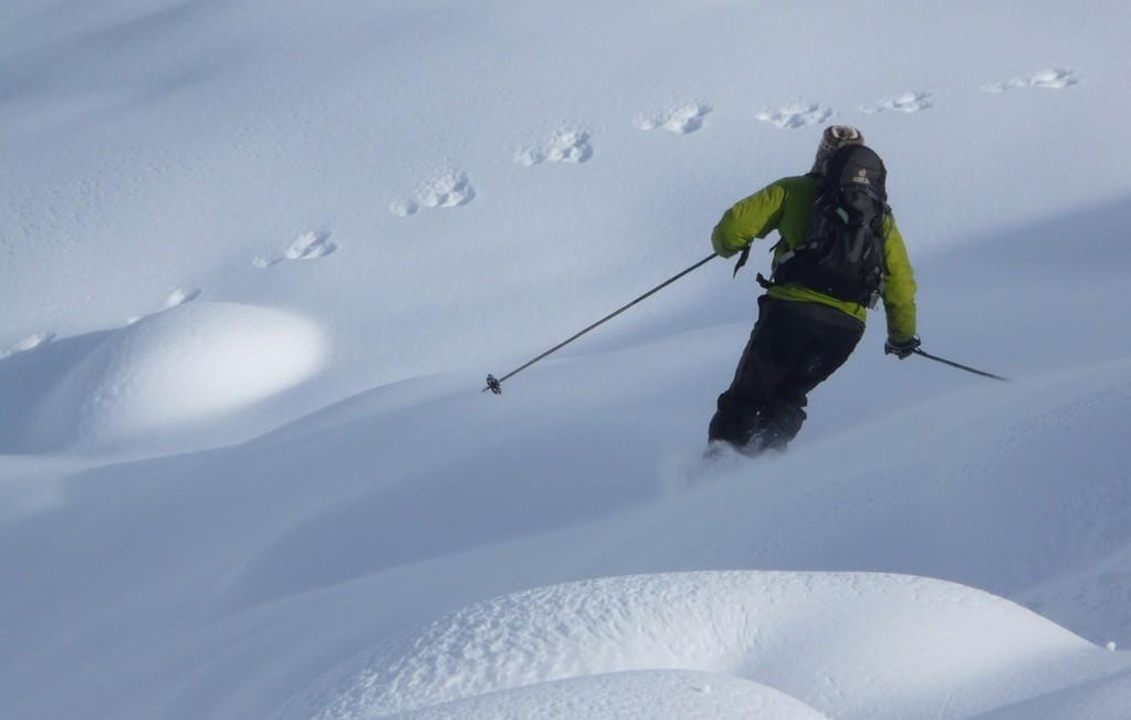 ski à Bonneval