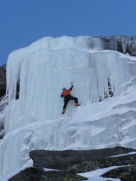 cascade de glace à Val Thorens