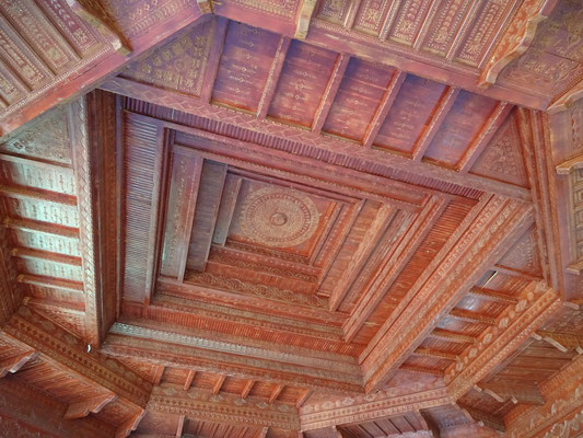 Dachkonstruktio. Foto PK