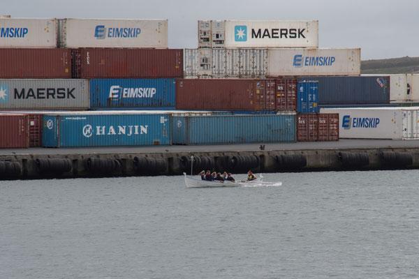 Containerhafen.