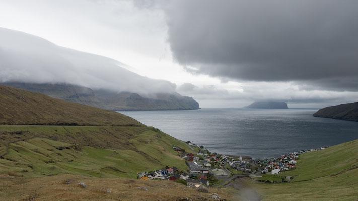 Dorf Kvívík.