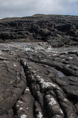Basalt, Basalt und nochmals Basalt (für Geologen ist es hier nicht sonderlich abwechslungsreich).