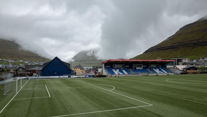 Klaksvik ist zurzeit erster in der hiesigen Liga.