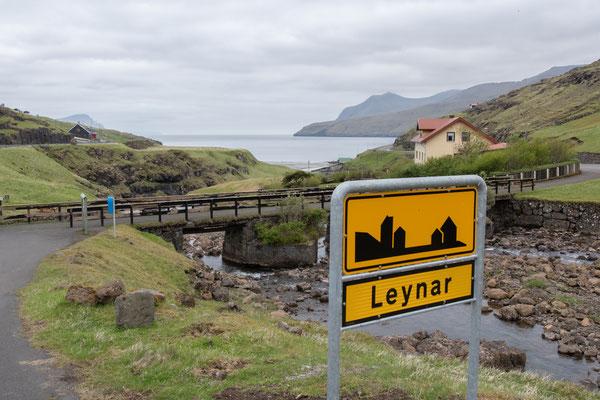 Dorf Leynar beim Vagartunnel.