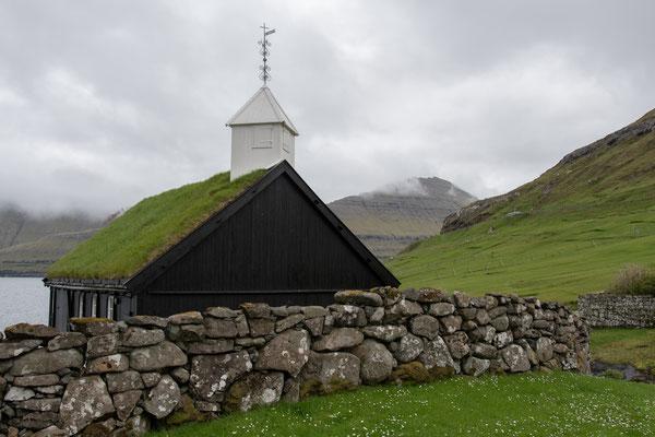 Kirche in Funningur.