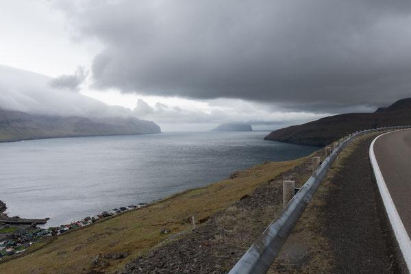 Der stete Wind verschafft uns abwechslungsreiche Ausblicke.