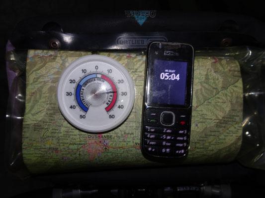 Zeit und Temperatur lassen nichts Gutes vermuten! Foto: PK