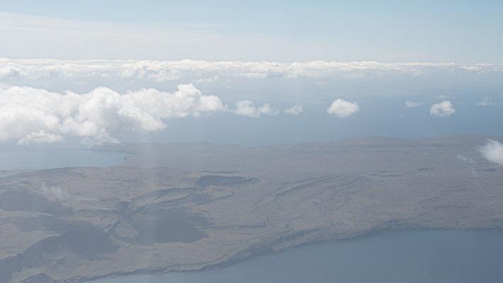 Sicht auf Sandoy, eine der Inseln, die wir nicht besuchen werden.