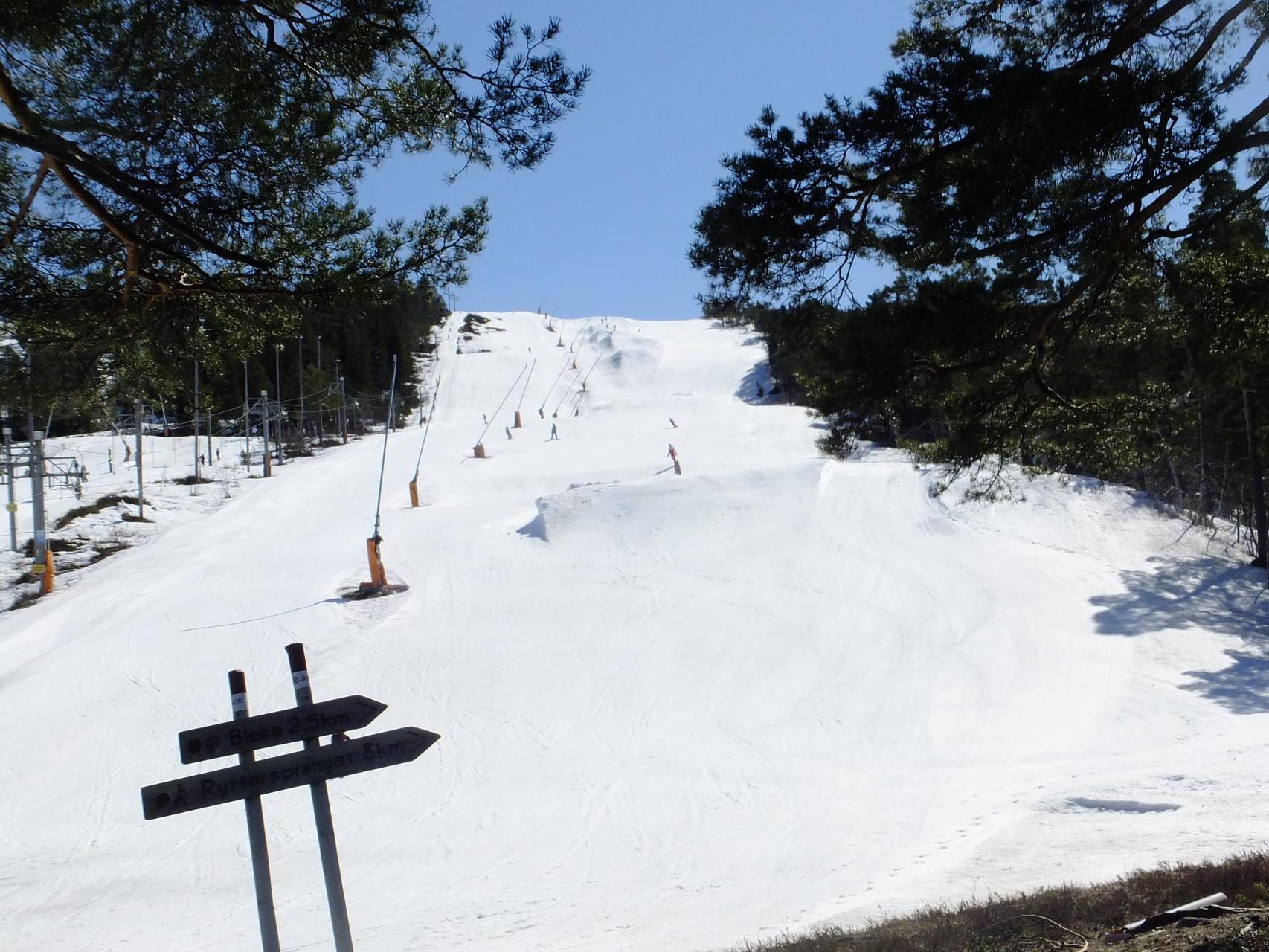 Skilift noch offen