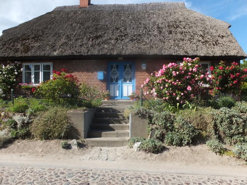 Typisches Haus auf Rügen