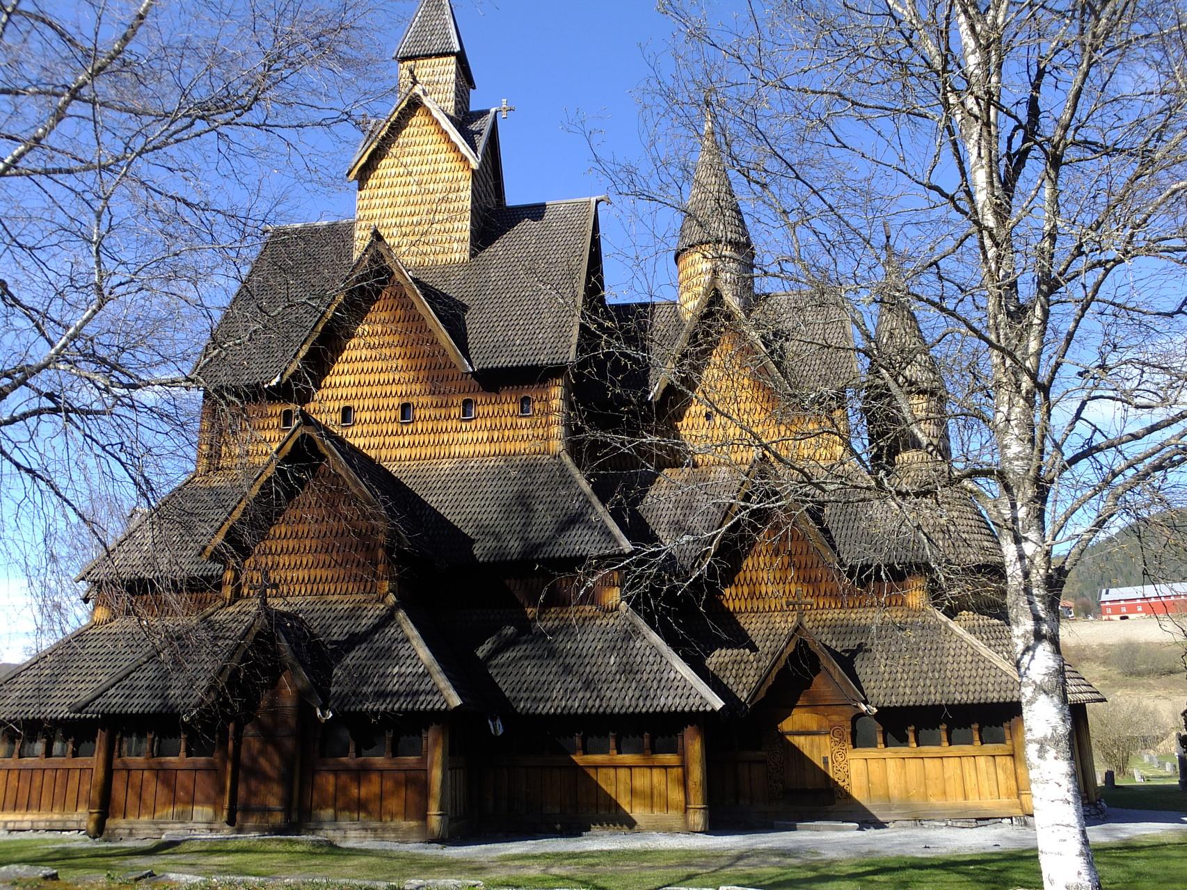 Stabkirche  aber leider geschlossen