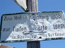 Wegbeschreibung Kalmberg