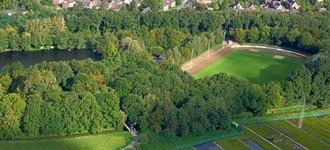 """Sportanlage """"Am Holländer See"""" und Vereinsheim des GSV in Geldern"""