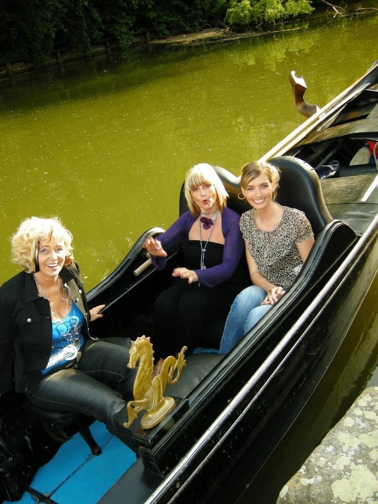 Gondelfahrt mit Linde, Vanessa und Nantia